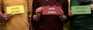 Actie, zintuigen en emotie